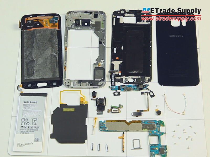 iphone 4 disassembly diagram light wiring 2 way switch how to tear down the samsung galaxy s6 in 10 steps