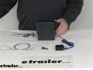 Engager Trailer BreakAway Kit with Charger and Tester Hopkins Trailer Breakaway Kit 20099
