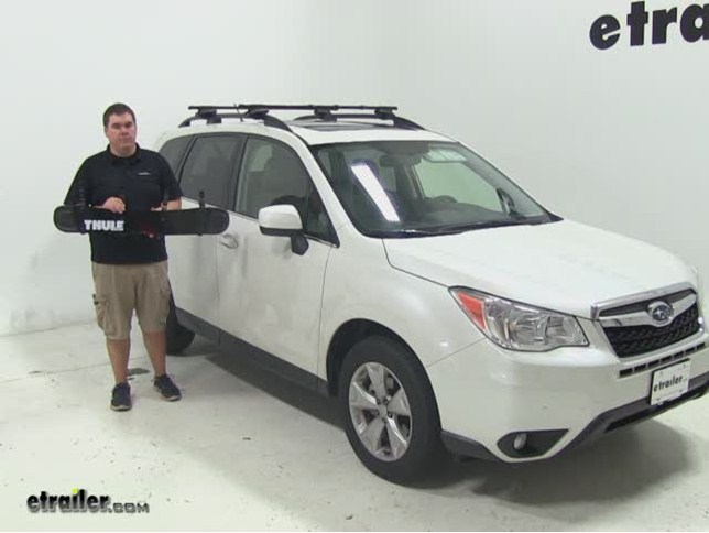Accessories and Parts by Thule for 2009 forester