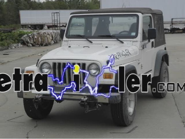 Custom Fit Vehicle Wiring For 2002 Jeep Wrangler Tow Ready 118409