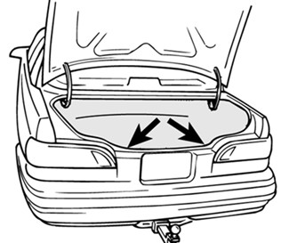 Mercury Sable Tail Light Diagram, Mercury, Free Engine