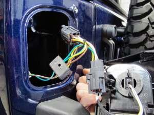 Wiring trailer lights jeep wrangler