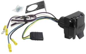 Adapter 4Pole to 7Pole and 4Pole Hopkins Wiring 37185
