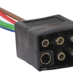 6 Pin Square Trailer Wiring Diagram For Pollak 12 705 7 Pole Connector | Get Free Image About