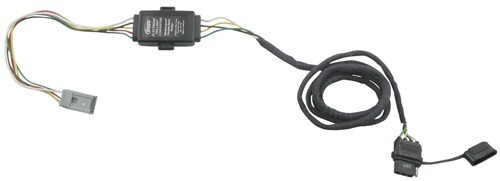 Plug-N-Tow (R) Vehicle Wiring Harness with 4 Pole Flat