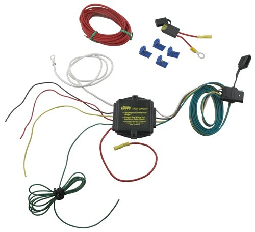 6 wire trailer plug wiring diagram audi a4 parts plug-n-tow (r) short proof powered taillight converter - heavy duty hopkins 46365
