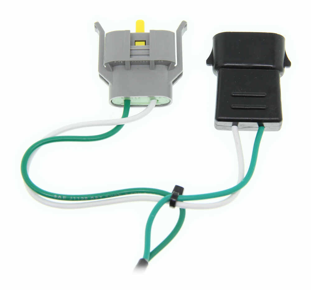 hight resolution of custom fit vehicle wiring for 1998 ford explorer curt c55345 4 prong trailer wiring diagram 7 pin trailer wiring harness