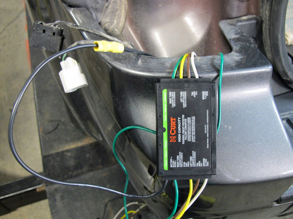 2011 Ford Escape Curt Tconnector Vehicle Wiring Harness With 4pole