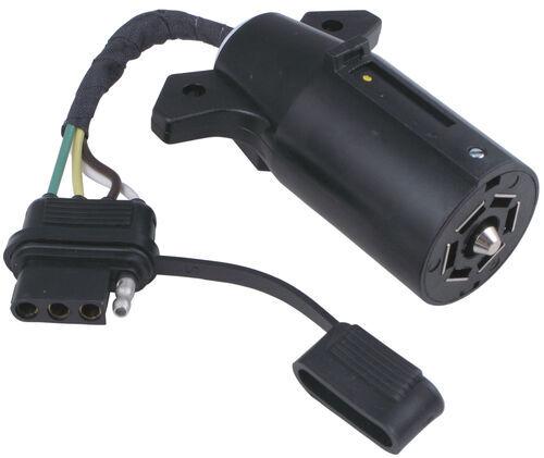 7 rv blade wiring diagram 2001 vw cabrio fuse 7-way to 4-way flat trailer connector adapter hopkins hm47365