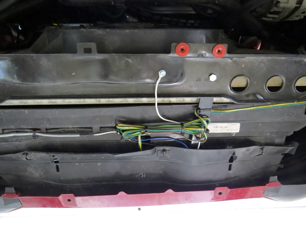 2013 Ford F150 Hopkins Custom Tail Light Wiring Kit For Towed