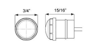 GloLight Uni-Lite LED Clearance and Side Marker Light
