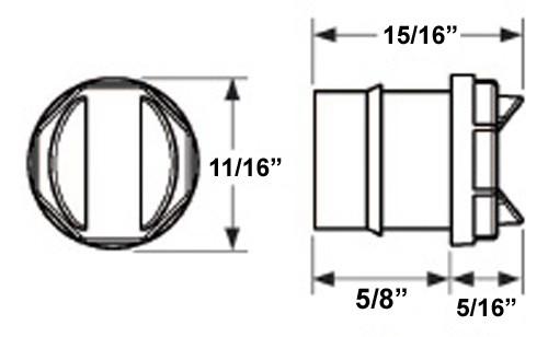 Sealed, Glolight Uni-Lite Mini LED Side Marker and