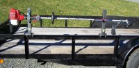 Pack'Em Single Trimmer Rack for Open Utility Trailers ...