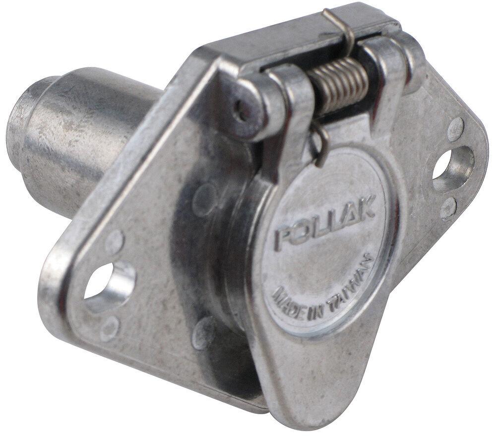 medium resolution of pollak heavy duty 4 pole round pin trailer wiring socket 7 pin trailer wiring diagram gmc pickup trailer wiring diagrams