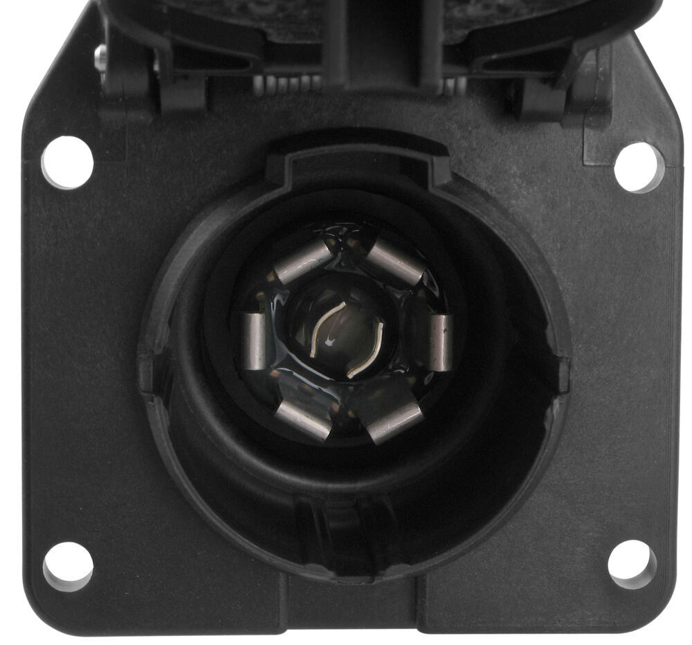 hight resolution of pollak 7 pole rv style trailer connector socket w wiring trailer adaptor wiring harness connectors trailer