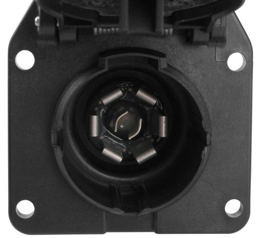 small resolution of pollak 7 pole rv style trailer connector socket w wiring trailer adaptor wiring harness connectors trailer