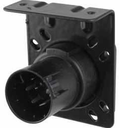 pollak 7 pole rv style trailer connector socket w wiring trailer adaptor wiring harness connectors 2008 [ 890 x 1000 Pixel ]
