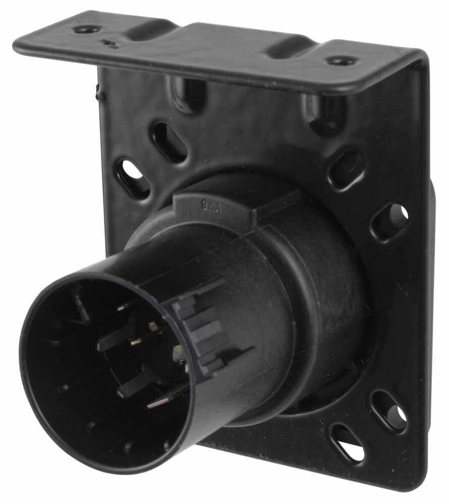 medium resolution of pollak 7 pole rv style trailer connector socket w wiring trailer adaptor wiring harness connectors 2008