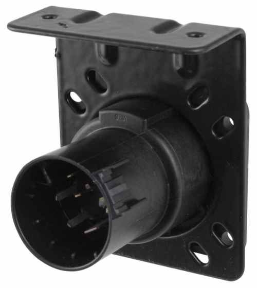 small resolution of pollak 7 pole rv style trailer connector socket w wiring trailer adaptor wiring harness connectors 2008