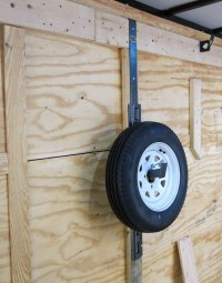 Spare Tire Carrier For Enclosed Trailer | 2018 Dodge Reviews