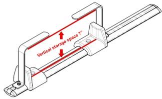 Ladder Mounting Kit for Rhino-Rack Heavy-Duty Crossbars