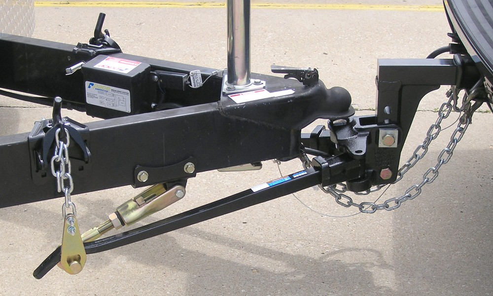 Distribution Weight Cam Hitch Dual