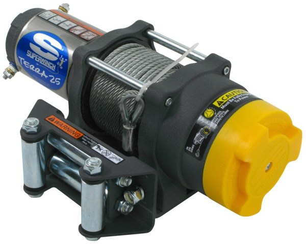 110 volt electric winches rope