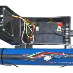 6 Pin Switch Wiring Diagram Nissan Altima Parts Breakaway Kit Installation For Single And Dual Brake Axle Trailers The First Wire Has Been Spliced Into Blue Trailer Feed