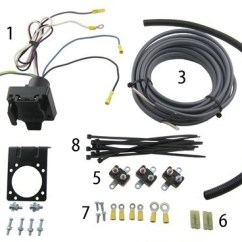 5 Pin Trailer Plug Wiring Diagram Australia 2002 Ford Focus Alternator Brake Controller Installation Starting From Scratch Etrailer Com The 7 Way Kit Pictured With All Included Parts