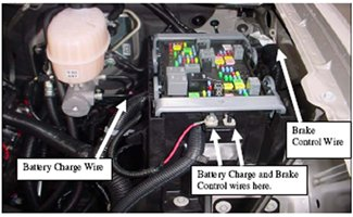 4 Way Wiring Diagram Remote Western Installing An Electric Brake Controller On 2007 2013 Gm
