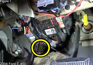 2013 Ford F53 Trailer Wiring Brake Controller Installation On A Ford Full Size Van