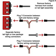 4 Pole Relay Wiring Diagram 1997 Volkswagen Jetta Troubleshooting And 5 Way Installations Etrailer Com Make Sure Connectors Are Seated Together Properly Figure