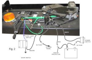 Replacement Wiring Harness for Lippert Electric Coach Step