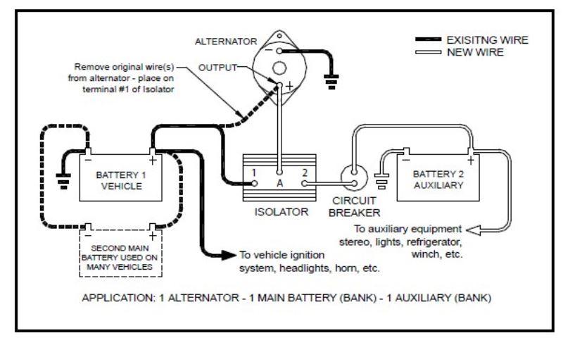 wiring diagram sure power battery isolator