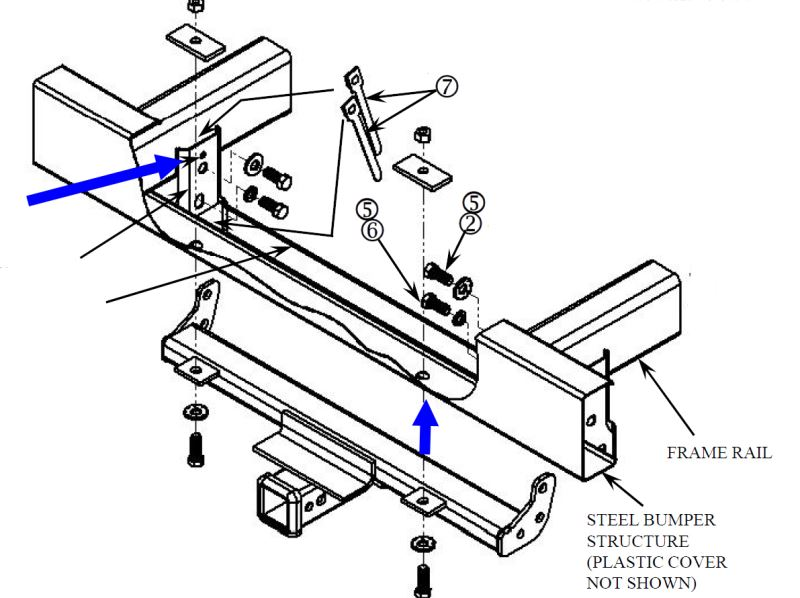 Can Installation Of Front-Mount Hitch On 2008 Jeep
