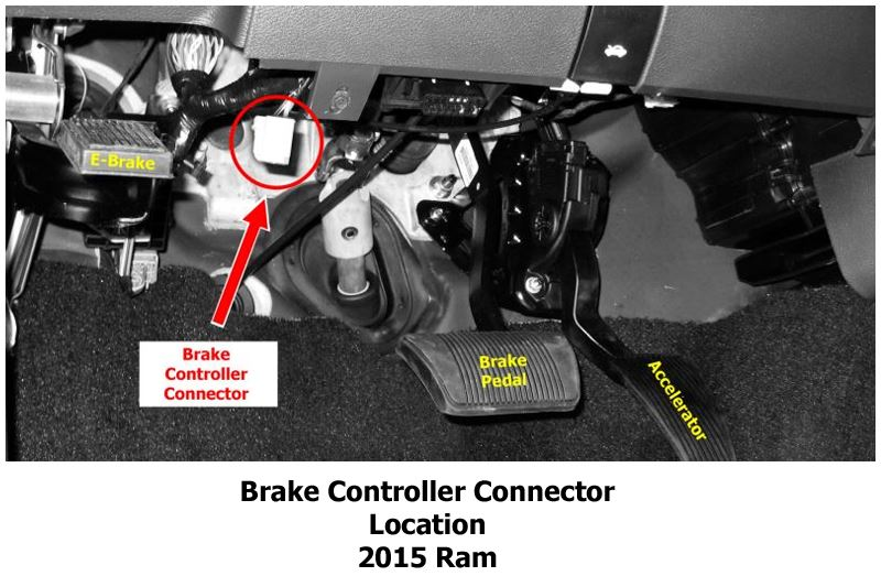 Wiring Diagram For Installing A Brake Controller On A 2010 Dodge Ram