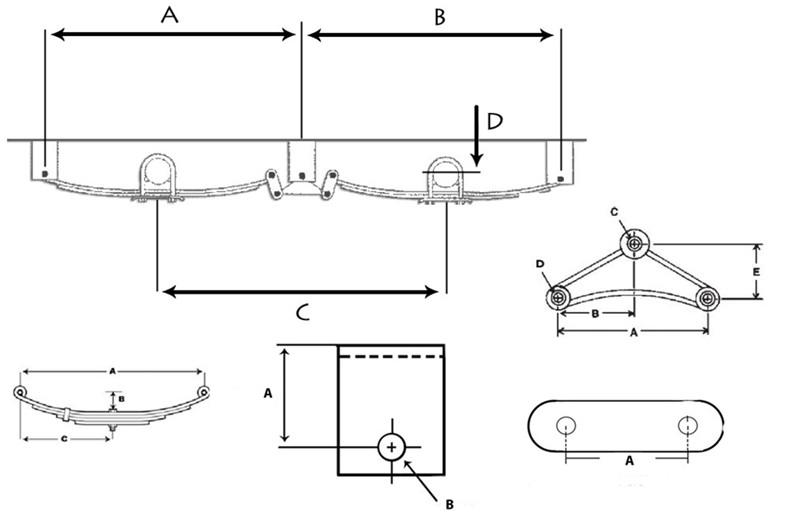 Peterbilt Air Leaf Suspension Diagram, Peterbilt, Free