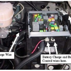 Brake Controller Wiring Diagram Chevy Led Strip Lights How To Connect Auxillary Power On 2008 Chevrolet Silverado 2500 Charge Trailer Breakaway ...
