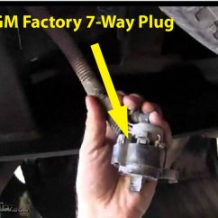 Trailer Hitch Wire Diagram Channel Master Rotor Wiring Installing 4-pole Connector On 2002 Chevy Silverado With No | Etrailer.com