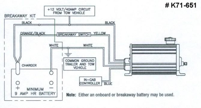 diagram electric over hydraulic trailer brake wiring
