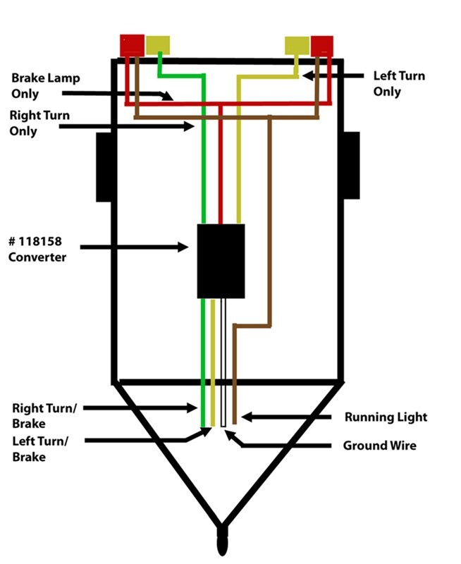 4 wire trailer wiring diagram troubleshooting, Wiring diagram