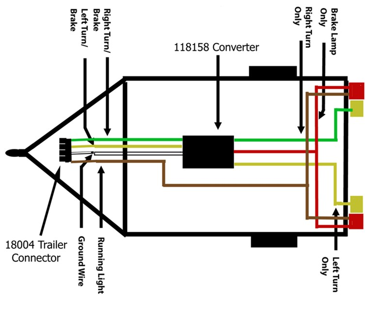 boat trailer wiring harness diagram whole house electrical can a combined stop and turn signal circuit be converted to separate circuits | etrailer.com