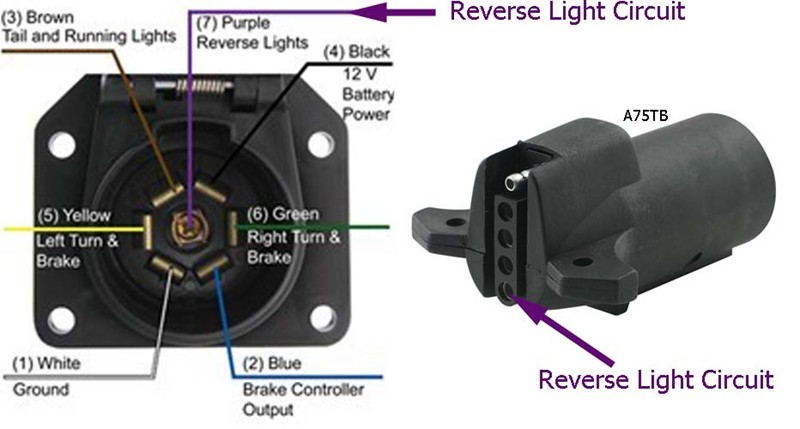wiring diagram 7 pin trailer light plug ge dryer door switch how to activate boat surge brake lockout from the factory 7-way on a 2012 toyota tacoma ...