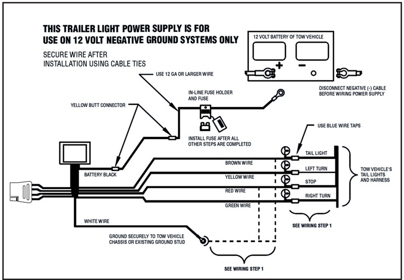 how to wire towready harness kit 119179kit in a 2005 ford crown victoria