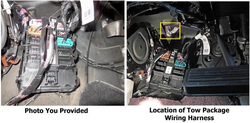 Gm Harness 23184088 2014 Trailer Brake Wiring Harness Silverado 1500