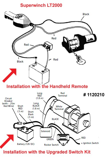 lt2000 superwinch wiring diagram wiring diagrams Superwinch LT2000 Manual lt2000 superwinch wiring diagram auto electrical wiring diagram superwinch lt2000 installation instructions installation of the remote