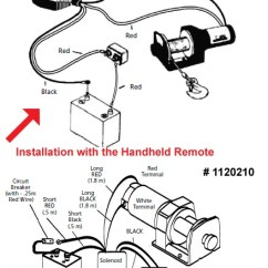 Warn Atv Winch Parts Diagram Tarsal Bones Circuit Great Installation Of Wiring The Remote For Superwinch Lt2000 System