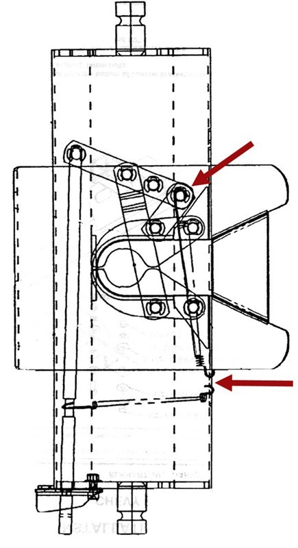 Installation Diagram for the Replacement Reese 5th Wheel