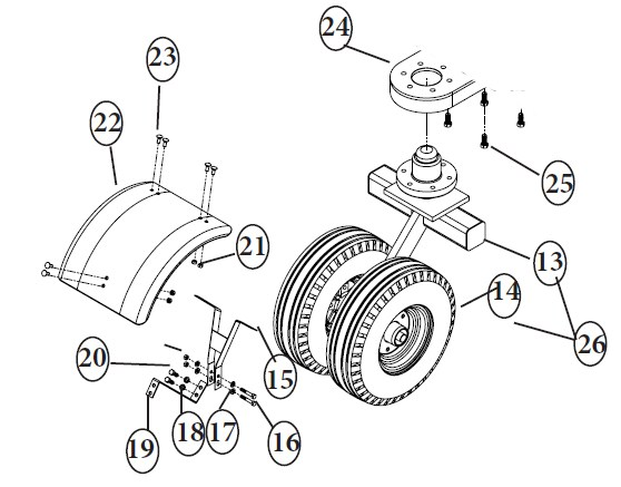 Availability of Replacement Caster Wheel Assembly for Blue