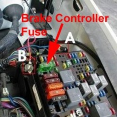 99 F350 Headlight Wiring Diagram For Multiple Lights One Switch Fuse Location Trailer Brake Controller On A 2005 Chevy Silverado 1500 | Etrailer.com